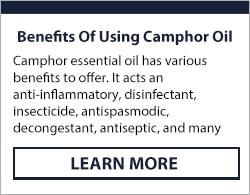camphor essential oil uses