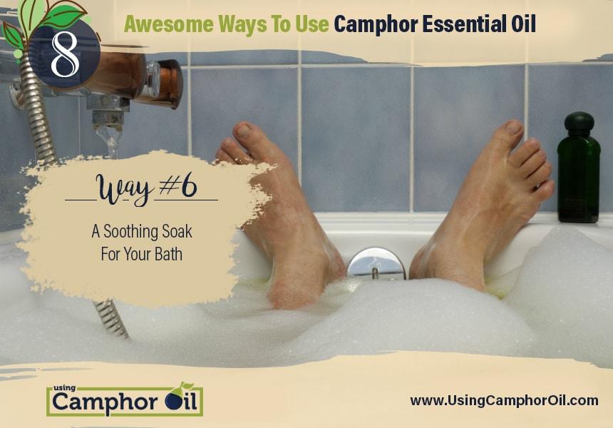 benefits of camphor essential oil